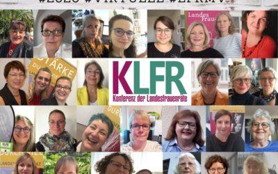 Pressemitteilung Konferenz der Landesfrauenräte